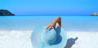 strand vrouw