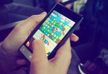 game spelen telefoon